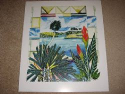 Art: Tropical Series #04 Lithograph