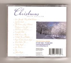 CHRISTMAS Compact Disk:  Keith Phillips SOFT MUSIC